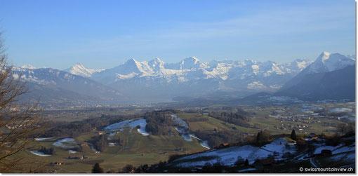 und die Berner Alpen