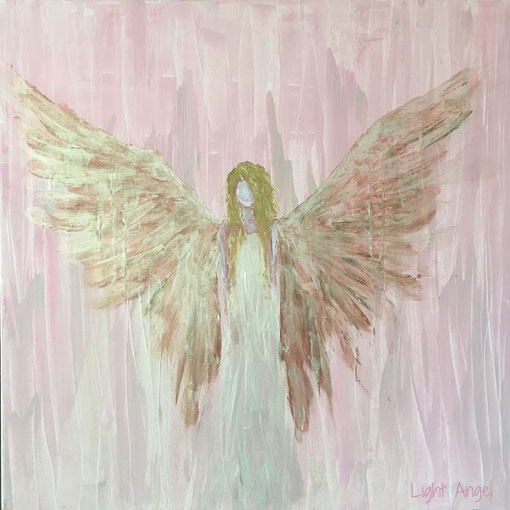 Light Angel (Acryl, 90x90)