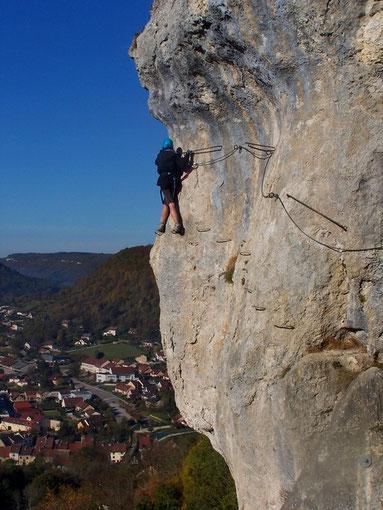 Via Ferrata de la Roche du Mont - Ornans