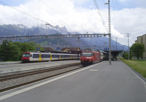 IR 774 in Sargans am 31. Mai 2008