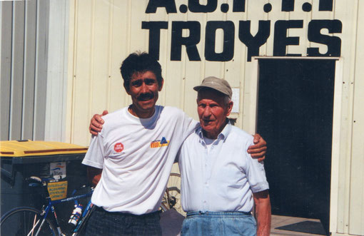 Pierre Mailly avec Alain (Bubu)son président