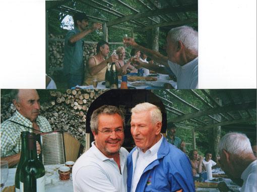Une journée chez Roland  au trou à pêche avec notre ami Cesar
