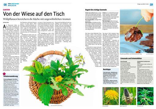 Kölner Stadtanzeiger 01. Juni 2012