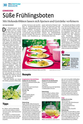 Kölner Stadtanzeiger 12. Mai 2012