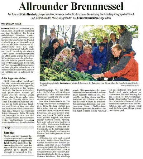 Rheinische Post, 20. April 2009
