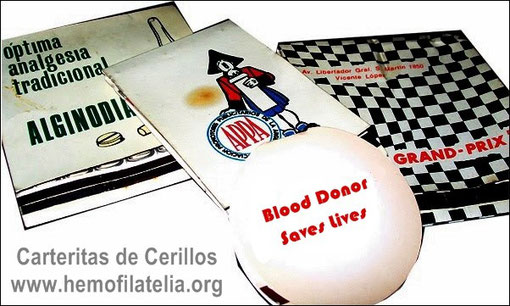 Carterita redonda: Done Sangre Salve Vidas.