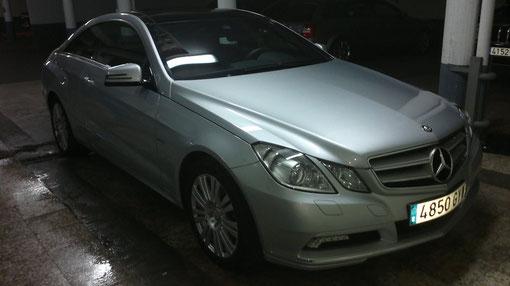Lavado a mano Mercedes resultado final