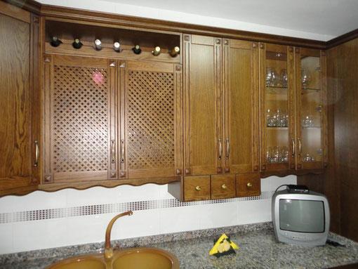 Cocina roble rustica Torredelcampo