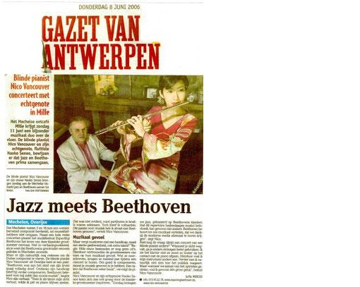Gazet Van Antwerpen / 8 June 2006