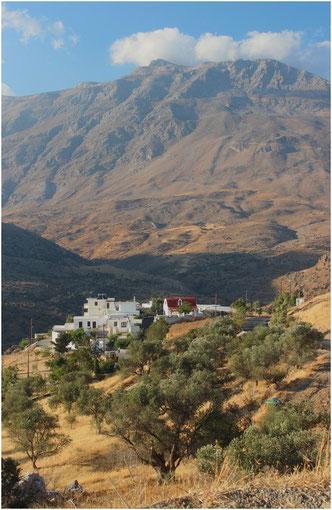 Paysage de montagne, Crète (Grèce)