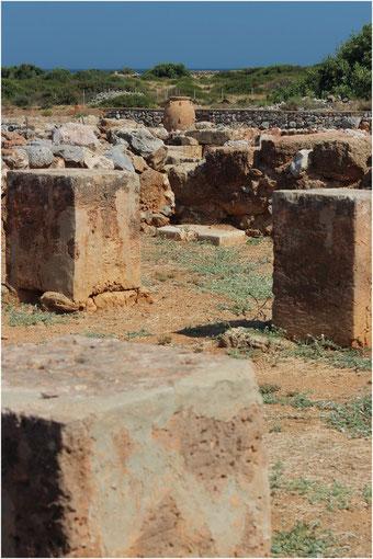 Le palais de Malia, Crète (Grèce)