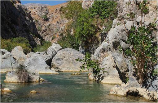 Plage de Ptévéli, Crète (Grèce)