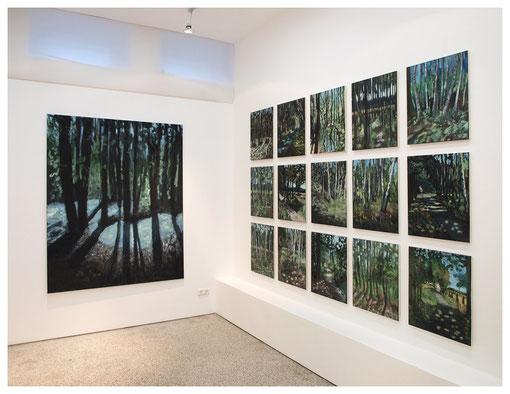 Ausstellungsansicht Realfiktion, Kramer Fine Art Hamburg, 2010