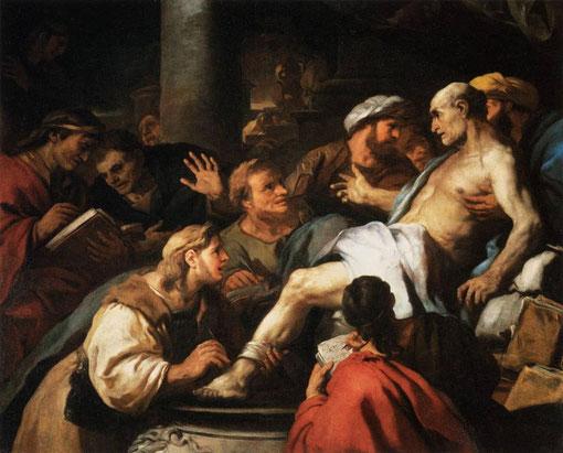 La muerte de Séneca (1684). Luca Giordano, 1684-1685