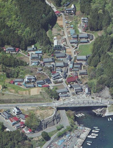 東日本大震災前の小室地区