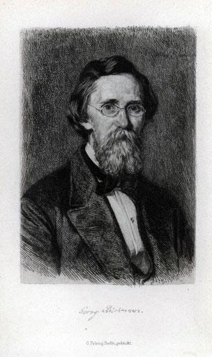 Hans Meyer Portrait Georg Büchmann