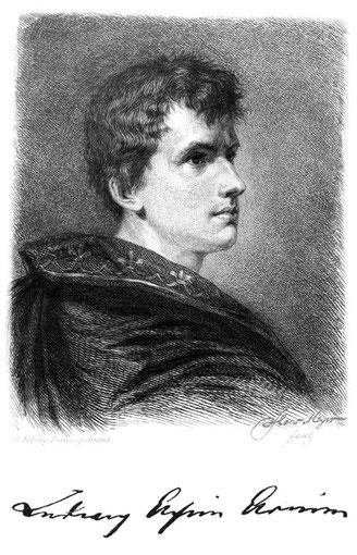 Hans Meyer Portrait Achim von Arnim