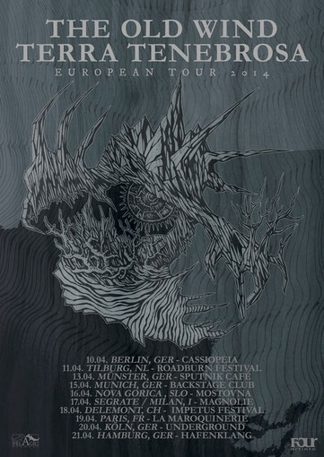 Europa Tour mit The Old Wind und Terra Tenebrosa