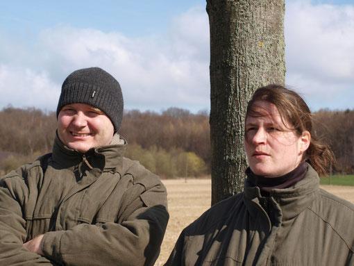 Herrchen Ralf und Frauchen Ulrike