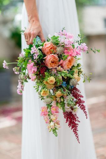 Brautstrauss Boho Vintage Hochzeit Blumen Die Hochzeitsfloristin