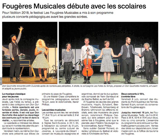 Ouest France 2018