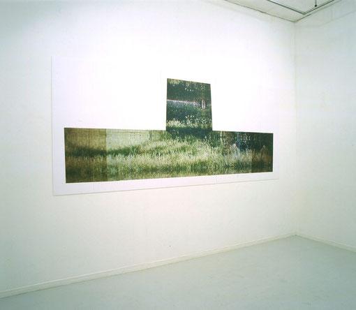 小林正樹展   写真をデジタル出力 「三つの記憶と時間」 w4500×h1800cm exhibit LIVE Ⅱ/銀座