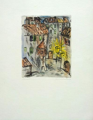 Altstadt Zürich anno dazumal