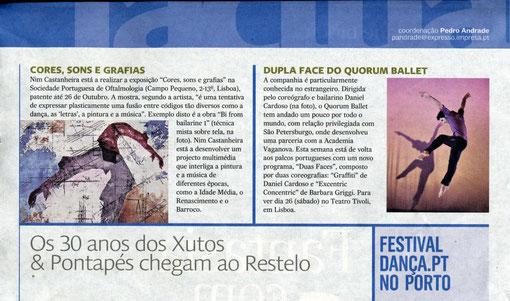 EXPRESSO / Actual / Exposição Individual Setembro 2009