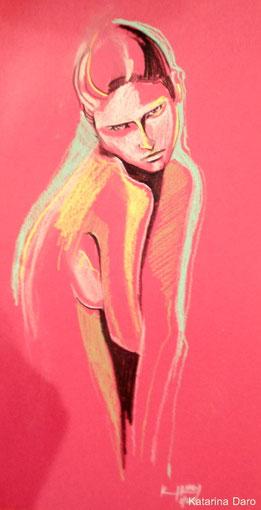 SHE      Kriede / Buntes papier A4