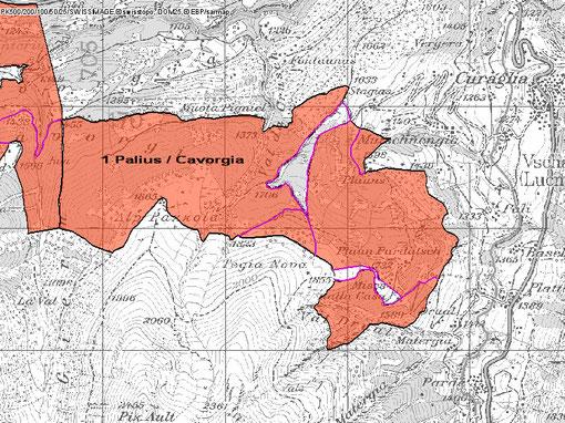 1. Karte Palius Cavorgia