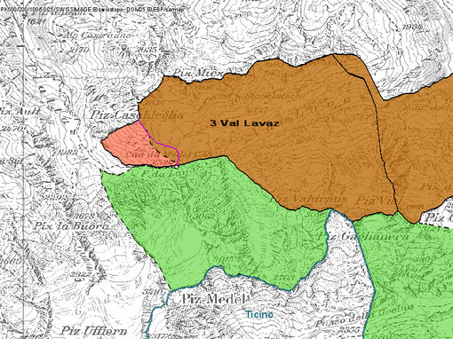 3. Karte Val Lavaz