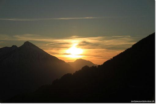 Sonnenuntergang von swissmountainview.ch