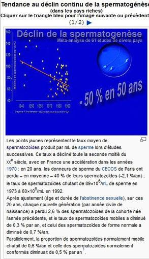 étude Danoise sur les spermatozoïdes