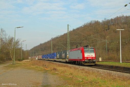CFL 4007 mit DGS 43513 Bettembourg/L - München-Laim Rbf, Luisenthal 28.03.2015