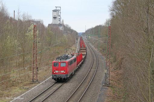 140 535 mit EK 55883 Saarbrücken Rbf West - Neunkirchen(Saar) Hbf, Fischbach-Camphausen 28.03.2015