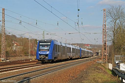 Vlexx 622 404 + 620 905 als RE 29518 Frankfurt(Main)Hbf - Saarbrücken Hbf, Sulzbach(Saar) 06.03.2015