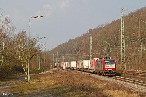 CFL 4012 mit DGS 43513 Bettembourg/L - München-Laim Rbf, Luisenthal 20.02.2015