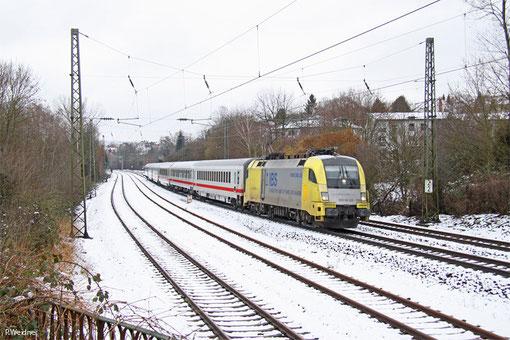 182 596 mit IC 2351 Saarbrücken Hbf - Stuttgart Hbf, Saarbrücken 01.02.2015