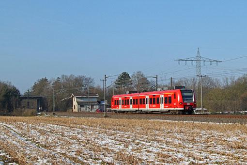 """426 008 """"Besseringen"""" als RB 33759 Saarbrücken Hbf - Kaiserslautern Hbf, 07.02.2015"""