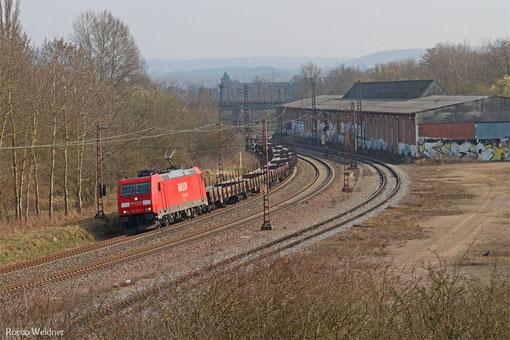 185 295 mit GM 62476 Kehl - Ehrang Nord (Sdl.Stahl), Bous 23.03.2015