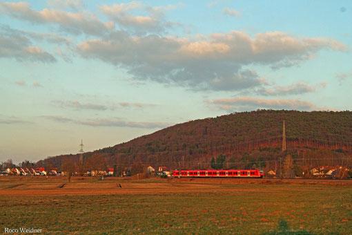 ET 425 auf der S1 Linie Osterburken - Homburg(Saar) Hbf, Bruchmühlbach 12.03.2015