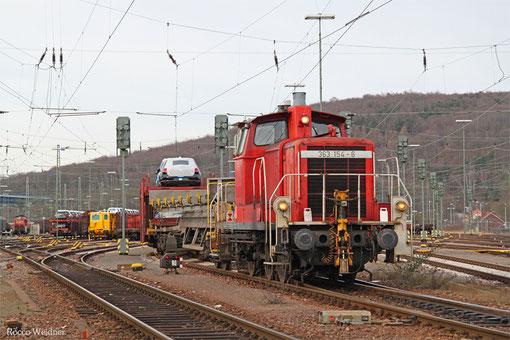 363 154 Saarbrücken Rbf Ost 08.03.2015