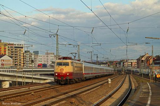 103 113 mit IC 2316 Stuttgart Hbf - Mainz Hbf, Ludwigshafen/Rhein 27.03.2015