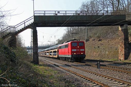 1511 130 mit GA 42690 Dillingen Ford - Basel Bad Rbf A (Carimate/I) (Sdl.PKW), Saarbrücken 20.03.2015