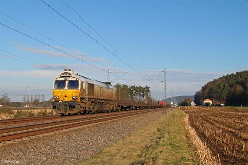 ECR 77 036 mit EZ 51908 Mannheim Rbf Gr.G - Saarbrücken Rbf Nord, 14.02.2015
