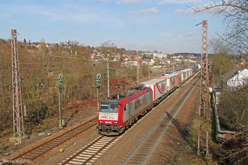 CFL 4012 mit DGS 48586 Landsweiler-Reden - Bettembourg/L (Sdl.), Sulzbach(Saar) 06.03.2015