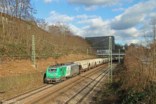 BB37009 mit DGS 44442 Saarbrücken Rbf Nord - Forbach/F (Sdl.), Saarbrücken 05.03.2015