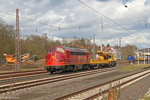 My 1155 ( 227 010-6 Altmark-Rail ) am in Dudweiler 30.03.2015