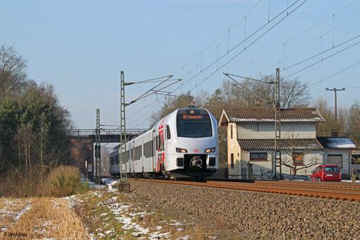 RE 4102 Koblenz Hbf - Mannheim Hbf, 07.02.2015