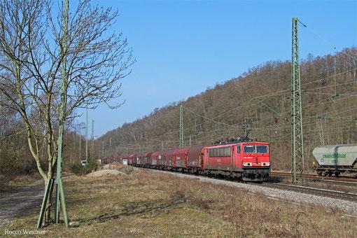 155 260 mit GM 98370 Ziltendorf EKO - Forbach/F (Revigny) (Sdl. Coils), Luisenthal(Saar) 13.03.2015
